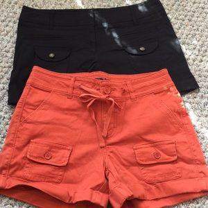 2 pair Shorts Bundle sz 6